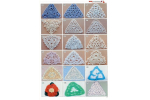 Charming 42 Images Crochet Triangles
