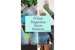 Luxury 48 Images Knitted Fingerless Mittens
