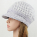 Contemporary 48 Pictures Knit Hat with Brim