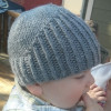 Top 47 Pics Knitted Baby Bonnet