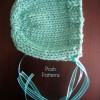 Contemporary 43 Photos Baby Bonnet Knitting Pattern