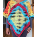 Adorable 49 Photos Granny Square Poncho