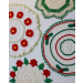 Wonderful 44 Photos Christmas Doilies