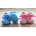Amazing 50 Pics Baby Booties Pattern