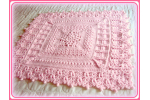 Unique 41 Photos Baby Girl Crochet Blanket Patterns