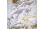 Wonderful 45 Pictures Baby Layette Crochet Patterns
