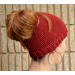 Delightful 45 Models Beanie Ponytail Hat