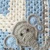 Lovely 43 Pics Elephant Baby Blanket Crochet Pattern
