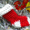 Contemporary 48 Pics Crochet Christmas Stockings