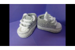 Wonderful 41 Models Crochet Converse Baby Booties