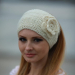 Marvelous 44 Images Knitted Headband with Flower