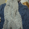 Attractive 46 Pics Cable Scarf Pattern