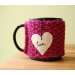 Unique 48 Photos Knitted Mug Cozy