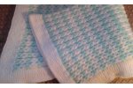 Amazing 41 Photos Cable Knit Baby Blanket