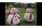 Adorable 41 Models Christmas Snowman Decorations