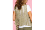 Great 41 Pics Free Crochet Womens Vest Patterns