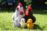 Attractive 49 Pics Knitted Animals