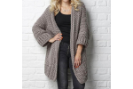 Attractive 40 Images Chunky Crochet Sweater Pattern Free