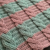 Gorgeous 48 Images Crochet Baby Blanket Size