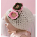 Top 44 Photos Crochet Baby Bonnet