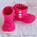 Superb 44 Pictures Crochet Baby Booties