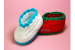 Superb 49 Images Crochet Baby Sneakers