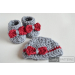 Attractive 44 Models Crochet Booties for Baby Girl