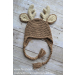 Wonderful 48 Images Crochet Deer Hat