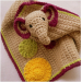 Incredible 45 Ideas Crochet Elephant Baby Blanket