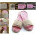 Amazing 49 Models Crochet Flip Flop Slippers