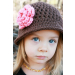 Superb 47 Pics Crochet Girl Hat