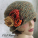 Perfect 33 Ideas Crochet Hats for Women
