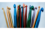 Superb 44 Images Crochet Hook and Yarn
