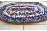 Charming 49 Images Crochet Oval Rug