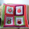Contemporary 43 Images Crochet Owl Blanket