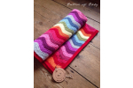 Gorgeous 44 Images Crochet Rainbow Baby Blanket