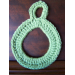 Gorgeous 46 Photos Crochet towel Ring