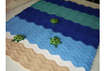 Brilliant 42 Pics Crochet Turtle Blanket Pattern
