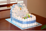 Brilliant 46 Photos Diaper Cakes for Boys