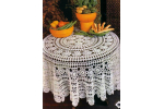 Charming 49 Pictures Doily Tablecloth