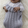 Marvelous 42 Photos Knitted Baby Cocoon