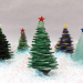Great 42 Ideas Glass Christmas Tree Decorations