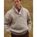 Charming 50 Models Mens Patterned Cardigan