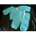 Charming 43 Photos Crochet Baby Sweater Sets
