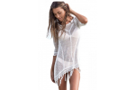 Brilliant 42 Pics White Crochet Beach Dress