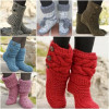 Superb 41 Pics Knitted Slipper Boots