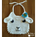 Adorable 48 Models Free Crochet Baby Bib Patterns