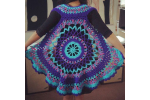 Gorgeous 42 Pictures Free Crochet Circle Vest or Shrug Pattern