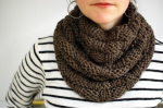 Awesome 41 Photos Chunky Knit Infinity Scarf