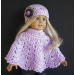 Top 50 Photos Free Crochet Doll Dress Patterns